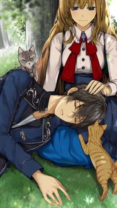 These are some picture of IkemenRevolution these picture aren't mine! Couple Manga, Anime Love Couple, Anime Couples Drawings, Anime Couples Manga, Hipster Drawings, Couple Drawings, Easy Drawings, Pencil Drawings, Best Anime Couples