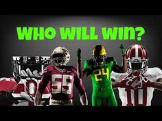 2014-15 College Football Playoffs Pump Up - Who Will Win?