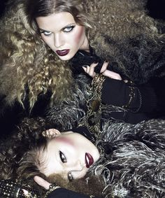 Magdalena Frackowiak and Maryna Linchuk | Mikael Jansson #photography | Interview August 2008 | via tumblr