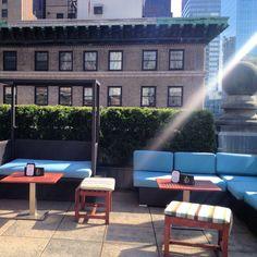 Sun beams at #Mad46RooftopLounge