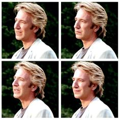 1991 -- From 'Close My Eyes' ... 4 photos of Alan Rickman.