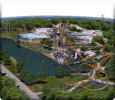 Canada's Wonderland--went here on senior day trip, would be fun to take the kiddos for a weekend.