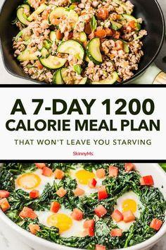 For simplicity and great-tasting options, check out this 7-day 1200 calorie meal plan! Who says eating healthy has to taste bland and boring? 1200 Calorie Meal Plan, Diet Meal Plans To Lose Weight, 1200 Calories, Ketogenic Diet Meal Plan, Keto Meal Plan, Daily Meal Plan Healthy, 7 Day Meal Plan, Diet Menu, Paleo Diet