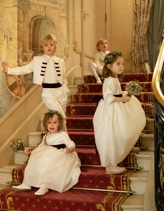 Gorgeous Winter Wedding in London, with flower girls and page boys wearing creations by French designer Little Eglantine Designer Flower Girl Dresses, White Flower Girl Dresses, Flower Girls, Wedding Outfit For Boys, Wedding Page Boys, Bridesmaid Inspiration, Wedding Inspiration, Inspiration Boards, Kids Bridesmaid Dress
