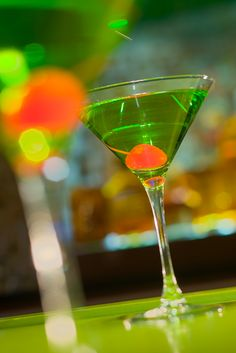 A taste of the nightlife at Hyatt Regency Miami's Pure Verde. #Bar #Lounge #Cocktail