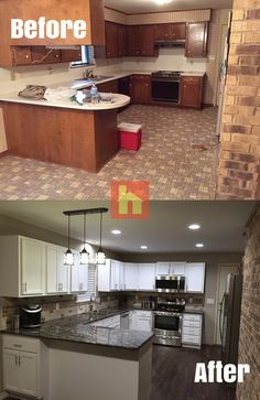 Kitchen Remodel By Stephen M.  Nacogdoches, TX. We Remodeled A Late 80u0027s