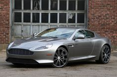 The Aston Martin is one of the most elegant grand tourer supercars available. Available in a couple or convertible The Aston Martin has it all. My Dream Car, Dream Cars, Aston Martin Virage, E90 Bmw, Car Racer, New Sports Cars, Automobile Industry, My Ride, Hot Cars