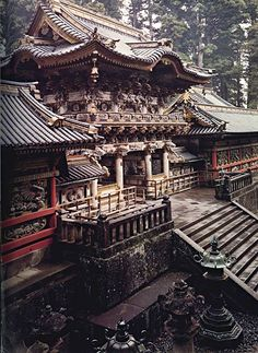 Toshogu Shrine, Tochigi Prefecture, Japan. Built in 1617 (Edo period), in dedication to Tokugawa Ieyasu as the founder of the Tokugawa Shogunate: