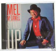 Mel mcDaniel Stand Up (CD 1992 Emi-Capitol Special Products) RARE Near Mint OOP