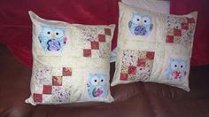 Cushions made for Laura's Christmas