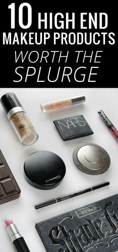 10 high end makeup products worth the splurge #beauty #makeup #makeuplover #makeupjunkies #beautyblogger #beautyblog