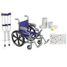 Exclusive Purple Journey Girls Wheelchair & Crutch Set Includes Cast & Stickers by Journey Girls, http://www.amazon.com/dp/B00A1S21W6/ref=cm_sw_r_pi_dp_U6VHsb194JY2Q