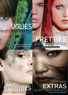 Good series about future America. Kids rebelling against an oppressive government. They're different from other books I've read.