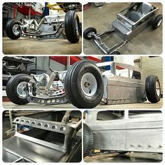 mini hot rod in bare metal. Kids Ride On, Kids Bike, Jeep Rat Rod, Soap Box Cars, Homemade Go Kart, Kids Wagon, Go Kart Plans, Radio Flyer Wagons, Diy Go Kart