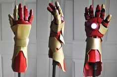 Iron man Gauntlet by RaquelQuiros