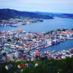 Bergen Norway's Second City and the Gateway to the Fjords. Photo by @gezimanya on Instagram.