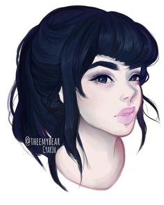 SketchMeCyarine Follower Freebie. by Cyarin.deviantart.com on @DeviantArt