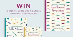 Win 'Butler's Guide Book' Bundle with Batsford Imprint
