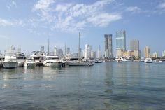 Passeando pelo porto de Cartagena