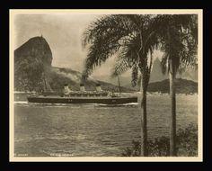 fotografia de LTM, c. 1937. Registro fotográfico importante da década de 30, como a inauguração da estátua do Cristo Redentor em 1931 e a do navio alemão Cap. Arcona.