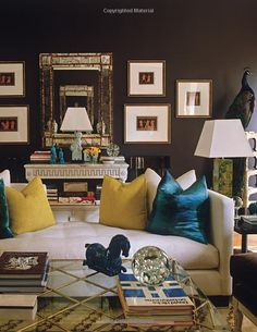Philip Gorrivan's room in Decorate Fearlessly: Using Whimsy, Confidence, and a Dash of Surprise to Create Deeply Personal Spaces: Susanna Salk