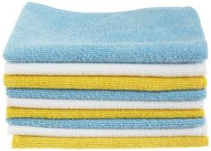 Ultra soft, non-abrasive microfiber cloths will not scratch paints, coats or other surfaces * Cleans with or without chemical cleaners, leaves lint and streak free results * Absorbs eight times its own weight * Pack comes with three different towel colors (blue, yellow, and white) * Rinse and reuse 100's of times * (Placed within the Amazon Associates program) * 15:08 Mar 8 2017