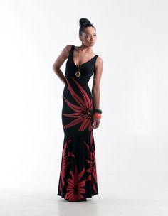 Polynesian Dress by MENA