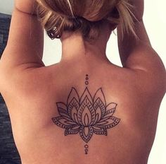 Lotus flower tatoo
