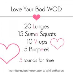 Love Your Bod #WOD