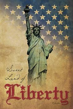 sweet land of liberty...