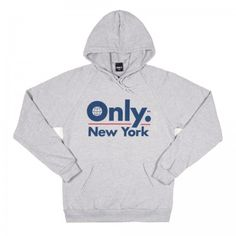 ONLY NY - Global Logo Heather Grey