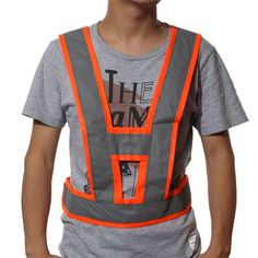 1pcs High Visibility Traffic Waistcoats Vest Security Reflective Stripes Jacket New Arrival High Quality #Affiliate