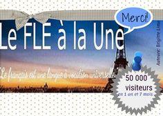 50000 visites sur le blog Le FLE à la Une