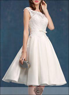 50er Jahre Vintage Brautkleid mit Spitze