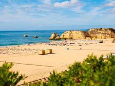 #Beach Praia da Rocha, Algarve, Portugal | via http://blog.turismodoalgarve.pt