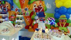 Decoração Patatí e Patatá para festa de aniversário infantil