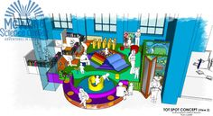 The Birmingham Children's Museum Itty Bitty Magic City at @mcwane opens May 16, 2015.