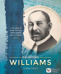 a biography of daniel hale williams Daniel hale williams was born in hollidaysburg, pennsylvania on january 18,  1856 to a free mulatto property owner and went to school in annapolis, maryland, .