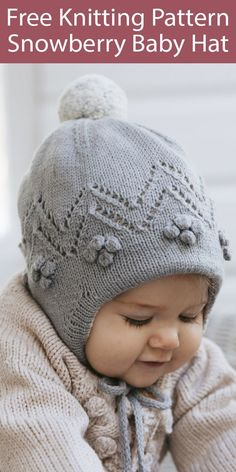 Easy Blanket Knitting Patterns, Baby Sweater Knitting Pattern, Sweater Patterns, Hat Patterns, Knitted Blankets, Knitted Hats, Baby Knitting Free, Finger Knitting, Baby Sweaters