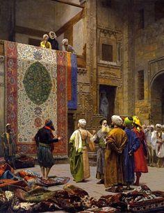 Jean Leon Gerome — The Carpet Merchant, July 20, 2015
