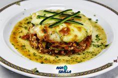Calabacines de pollo al pomodoro Ana Sevilla Con Thermomix