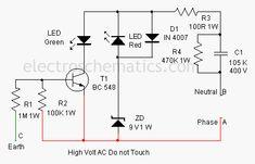 Earth Fault Indicator Circuit