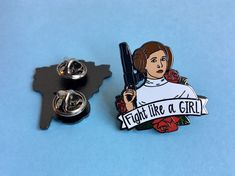 Leia Star Wars, Star Wars Art, Star Wars Jacket, Princes Leia, Hard Enamel Pin, Obi Wan, Girls Be Like, The Hobbit, Bridesmaid Gifts