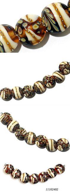 lampwork grace lampwork beads artisan handmade sra five graduated deep sea wo u003e buy it now only 48 on ebay