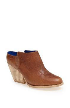 Jeffrey Campbell 'Vinton' Leather Bootie available at #Nordstrom