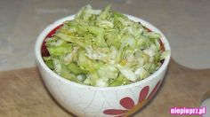 Surówka z białej kapusty Cabbage, Healthy Recipes, Vegetables, Food, Essen, Cabbages, Healthy Eating Recipes, Vegetable Recipes, Meals