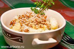 Картофельные ньокки с рагу из бычьего хвоста