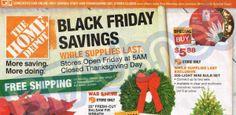 Home Depot Black Friday 2013 Ad #blackfriday #homedepot