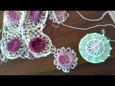 Örgü aparat ile gül modeli - YouTube Loom Patterns, Baby Patterns, Crochet Patterns, Crochet Flower Tutorial, Crochet Flowers, Crochet Towel, Crochet Baby, Crochet Videos, Loom Knitting