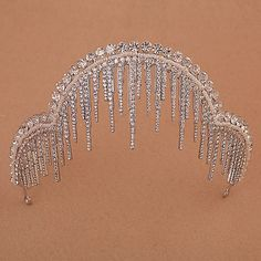a Chaumet sketch of the Icicle or stalagmite tiara